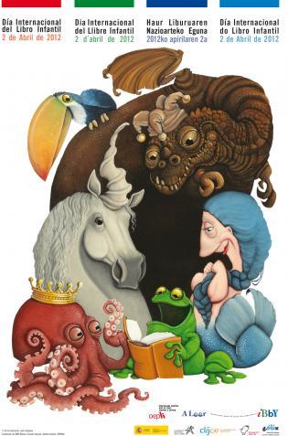 Cartel Día Int. Libro infantil