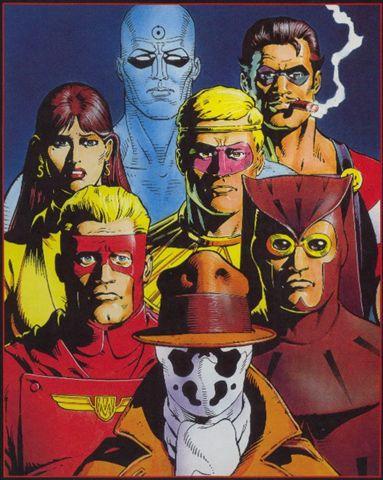 Watchmen Alan Moore - Dave Gibbons Watchmen2