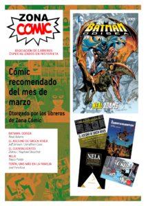 poster ZONACOMIC MARZO 2013