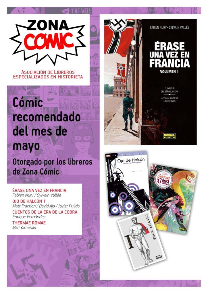 poster ZONACOMIC MAYO 2013