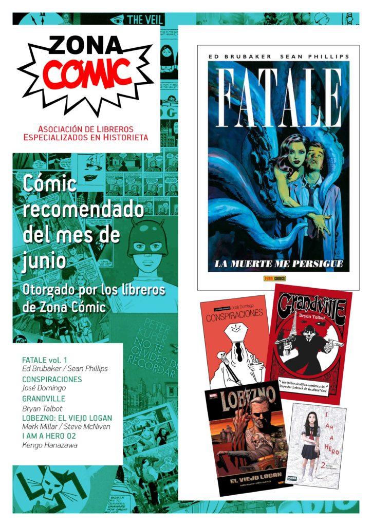 poster ZONACOMIC JUNIO