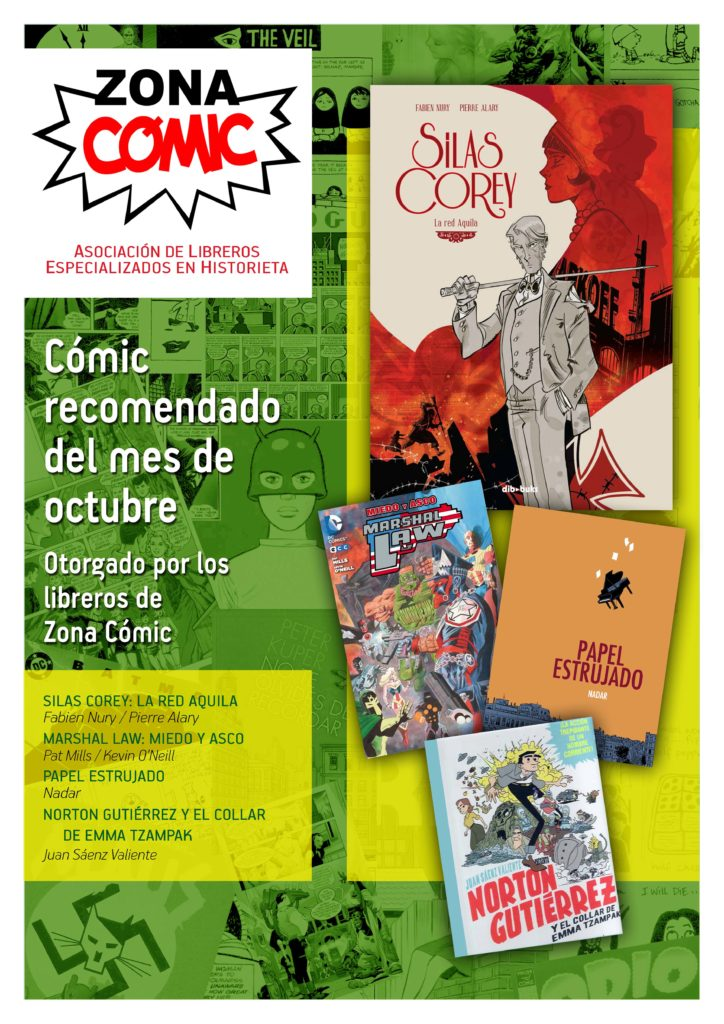 poster ZONACOMIC octubre