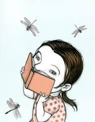 niña y libro