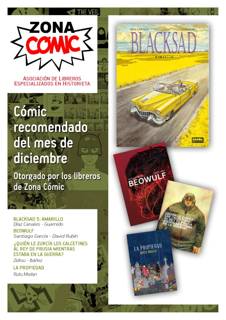poster ZONACOMIC diciembre