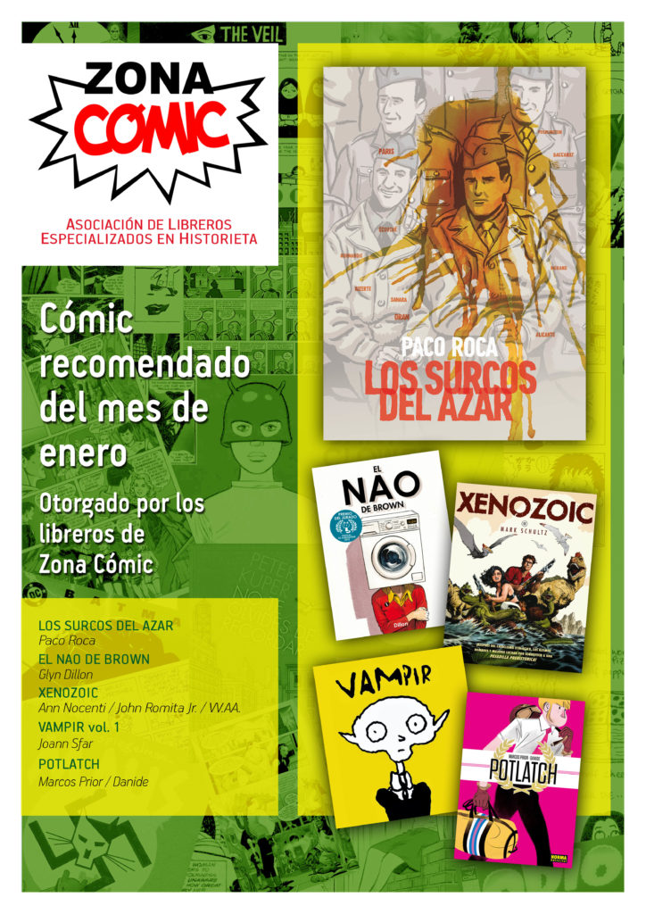 poster ZONACOMIC enero14