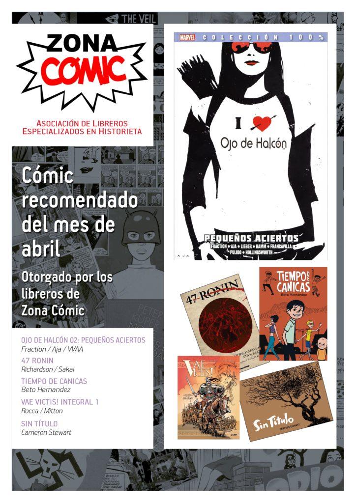 poster ZONACOMIC ABRIL 2014