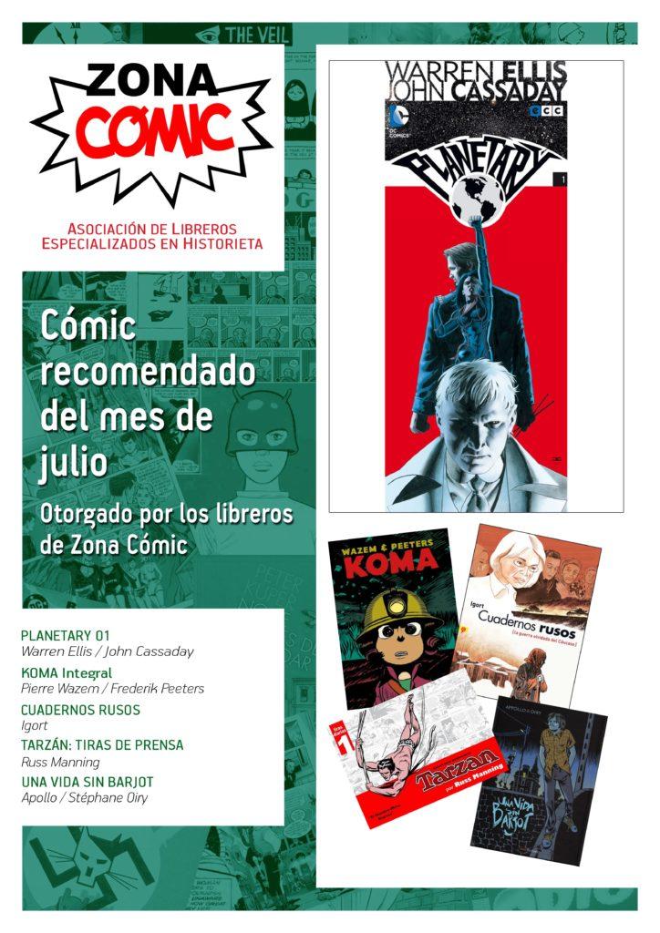 ZONA COMIC julio 2014