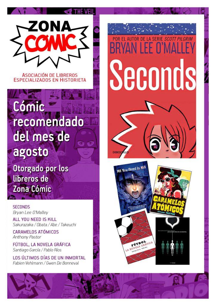 poster ZONACOMIC AGOSTO