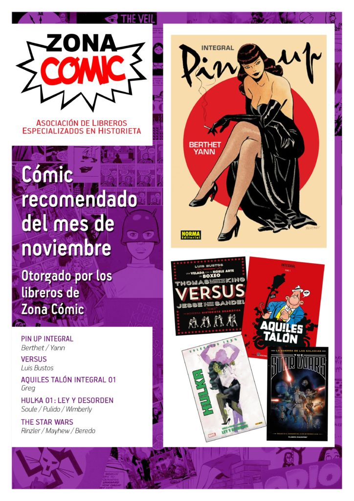poster ZONACOMIC noviembre