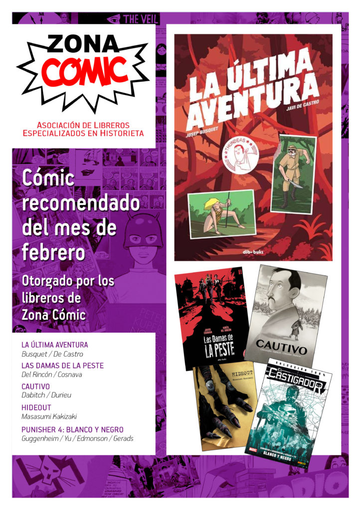 poster ZONACOMIC febrero
