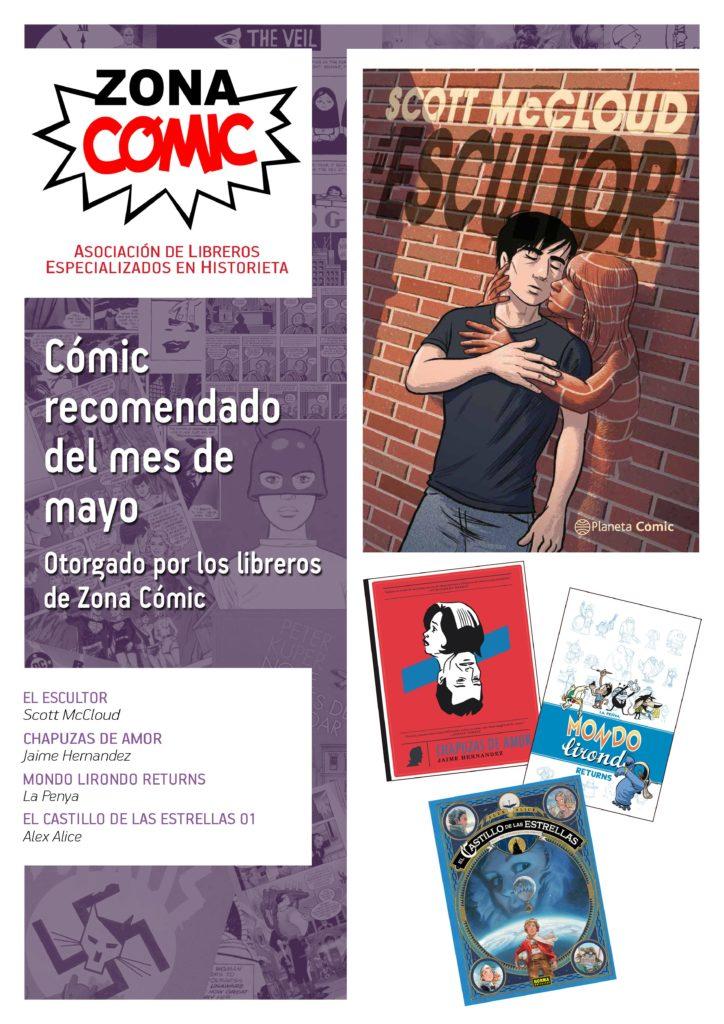 poster ZONACOMIC MAYO15