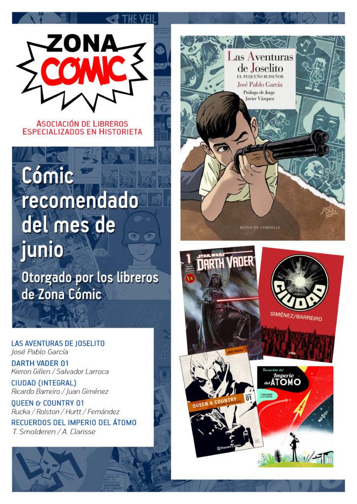 poster ZONACOMIC JUNIO 2015