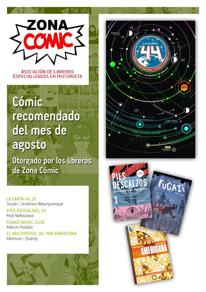 poster ZONACOMIC AGOSTO 2015