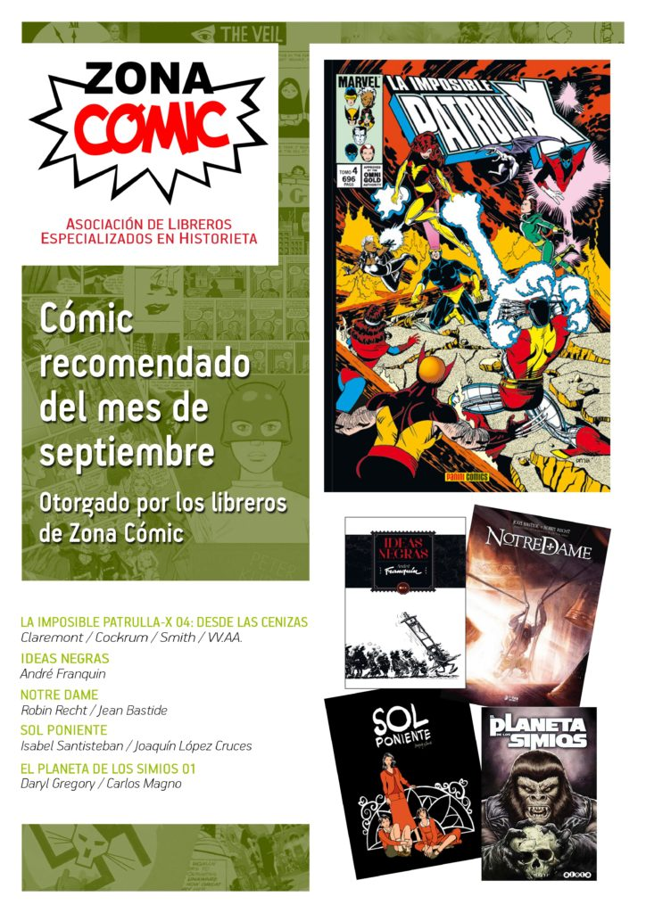 poster ZONACOMIC SEPTIEMBRE 2015