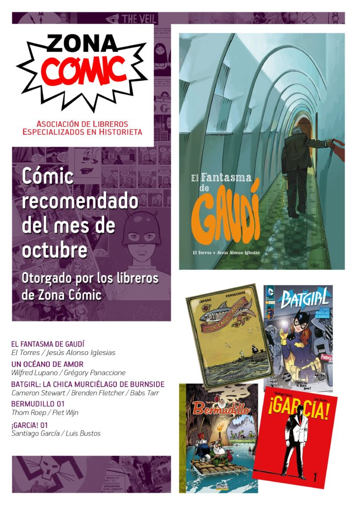 poster ZONACOMIC octubre 2015
