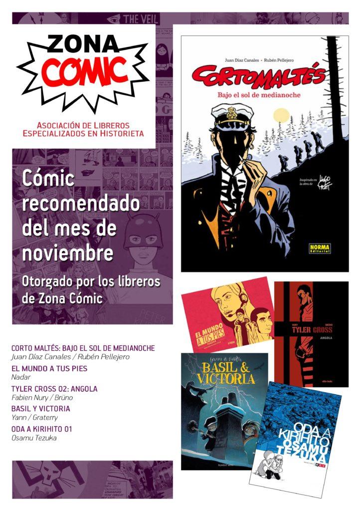 poster ZONACOMIC noviembre 2015