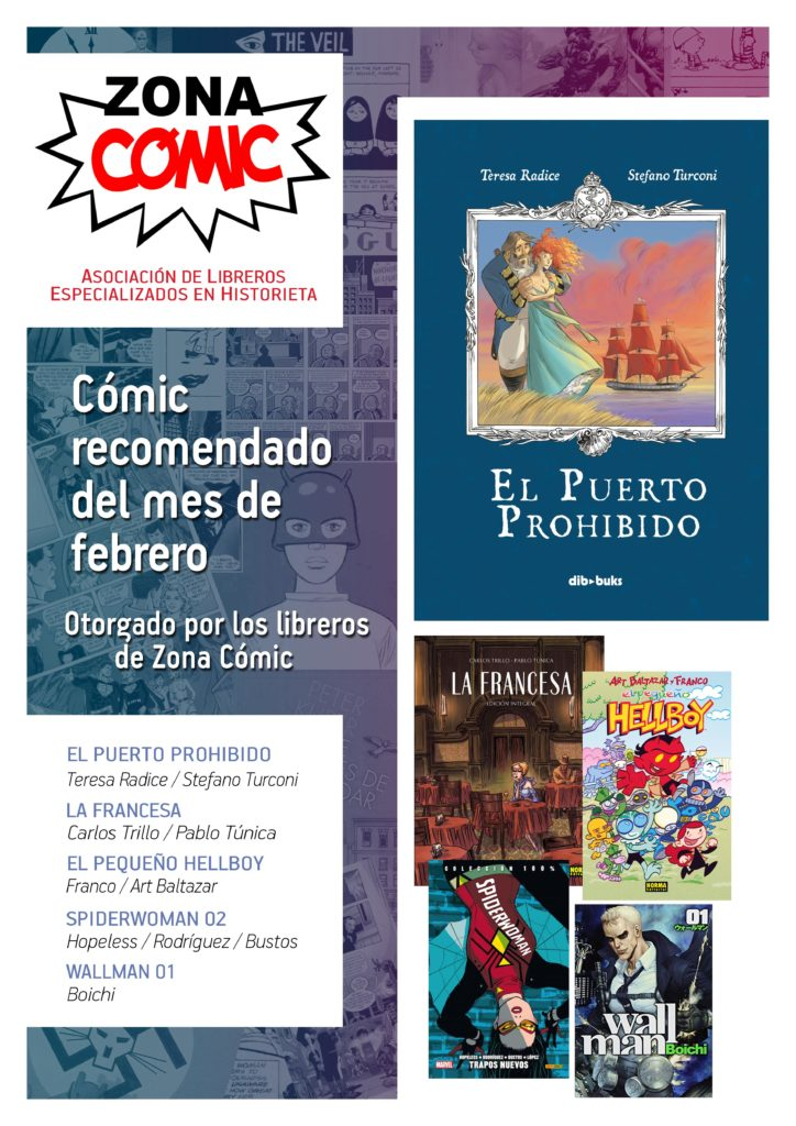 poster ZONACOMIC FEBRERO 2016