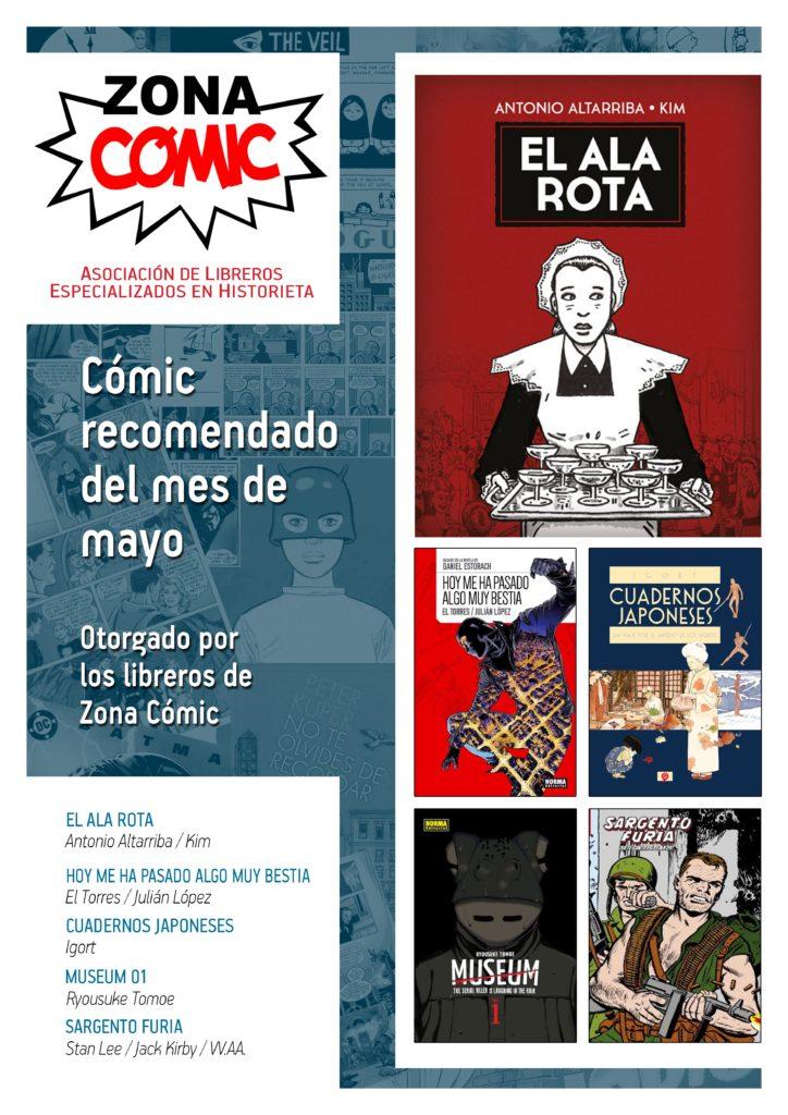poster ZONACOMIC mayo 2016
