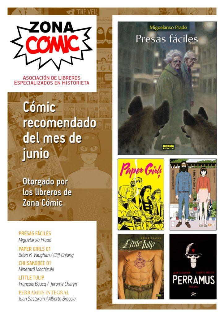 poster ZONACOMIC JUNIO 2016