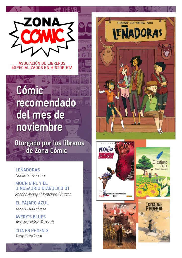poster ZONACOMIC NOVIEMBRE 2016