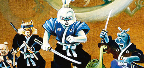 Póster cómic del mes de febrero de 2017: USAGI YOJIMBO: FANTAGRAPHICS COLLECTION 01 de Stan Sakai