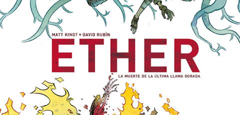 Póster cómic del mes de abril de 2017: Ether, de David Rubín