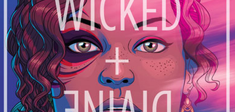 Póster cómic mes de mayo 2017:  The Wicked + The Divine 01