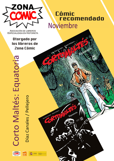 ZONA COMIC noviembre. Corto Maltés web