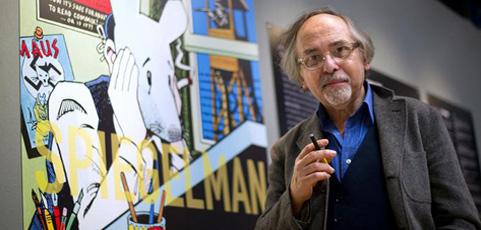 Art Spiegelman en el Museo Reina Sofía