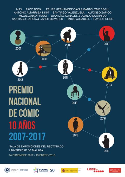 Premio Nacional del Cómic. Diez años. Cartel Expo