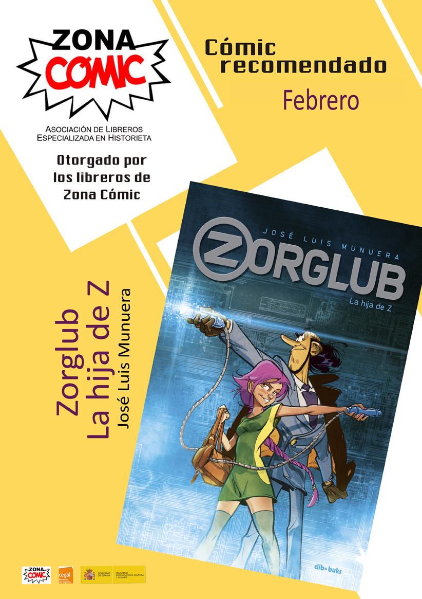 comic del mes febrero zorglub