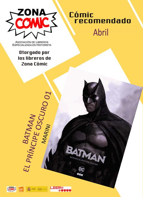 comic del mes abril batman principe oscuro 01 marini pw