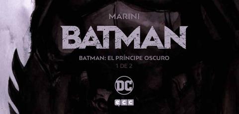 Póster Cómic Abril 2018. Batman. El príncipe oscuro 01