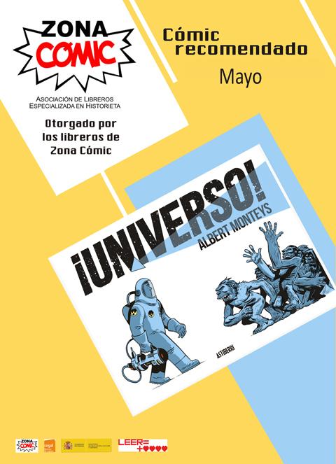 comic del mes MAYO NIVERSO Albert Monteys Astiberri