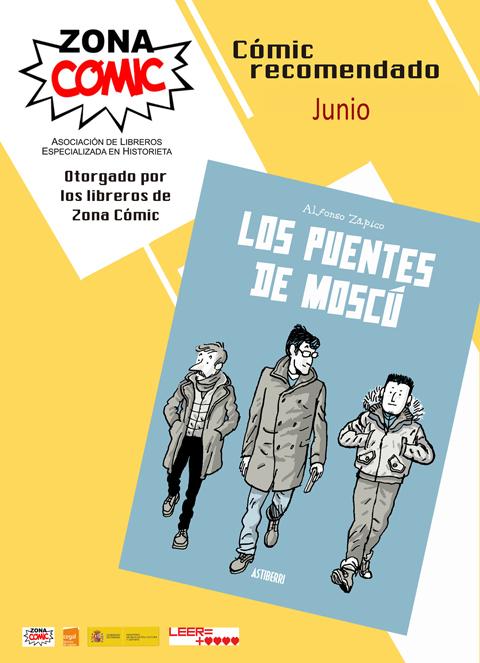 los puentes de moscú poster junio 2018 librerías zona cómic