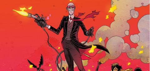 Póster cómic del mes de agosto. Sherlock Frankenstein y la Legión del Mal