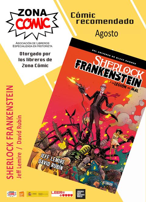 sherlock frankenstein y la legion del mal comic del mes agosto 2018 pw