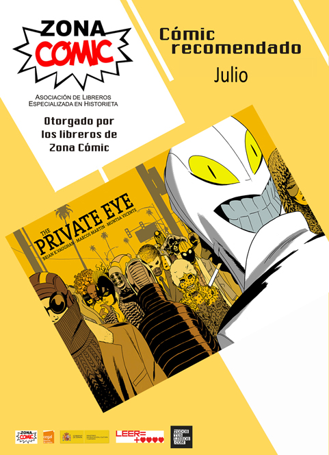 the private eye cómic mes julio p