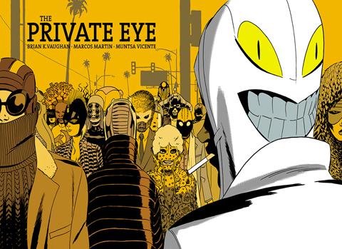 the private eye portada cp