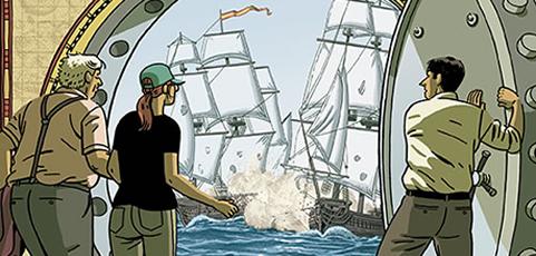 El tesoro del Cisne Negro, de Paco Roca y Guillermo Corral