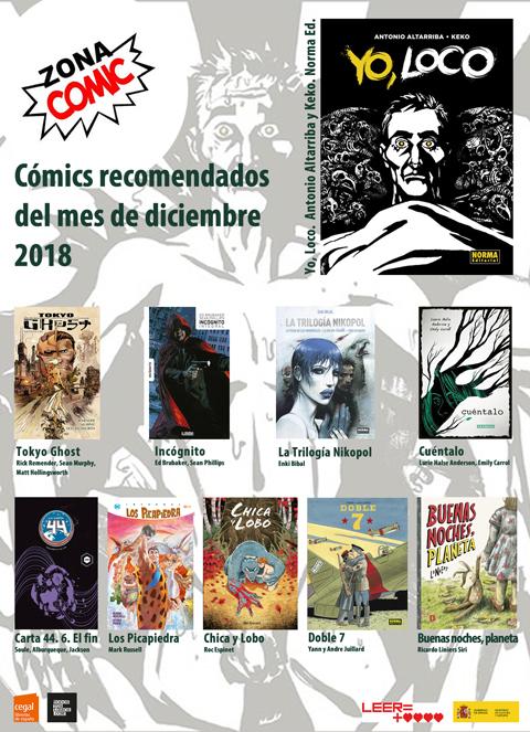 los cómics de diciembre 2018 pw