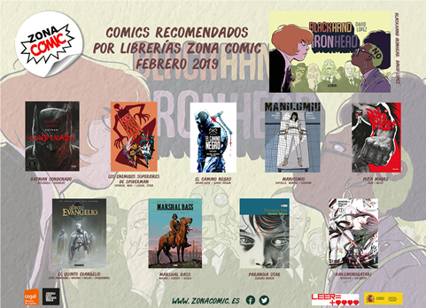 Zona Cómic - Cómics Febrero 2019 pw