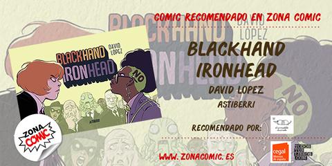 comic reccomendado - blackhand ironhead - pw