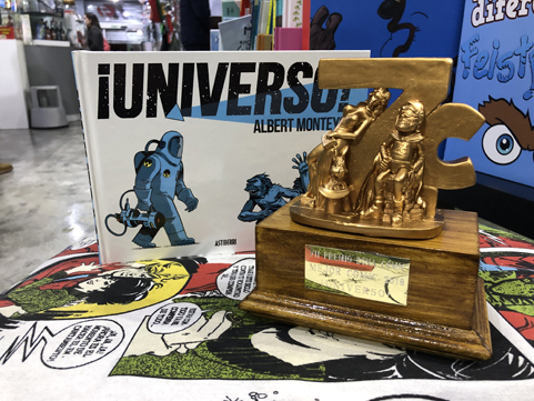 premio zona cómic con universo
