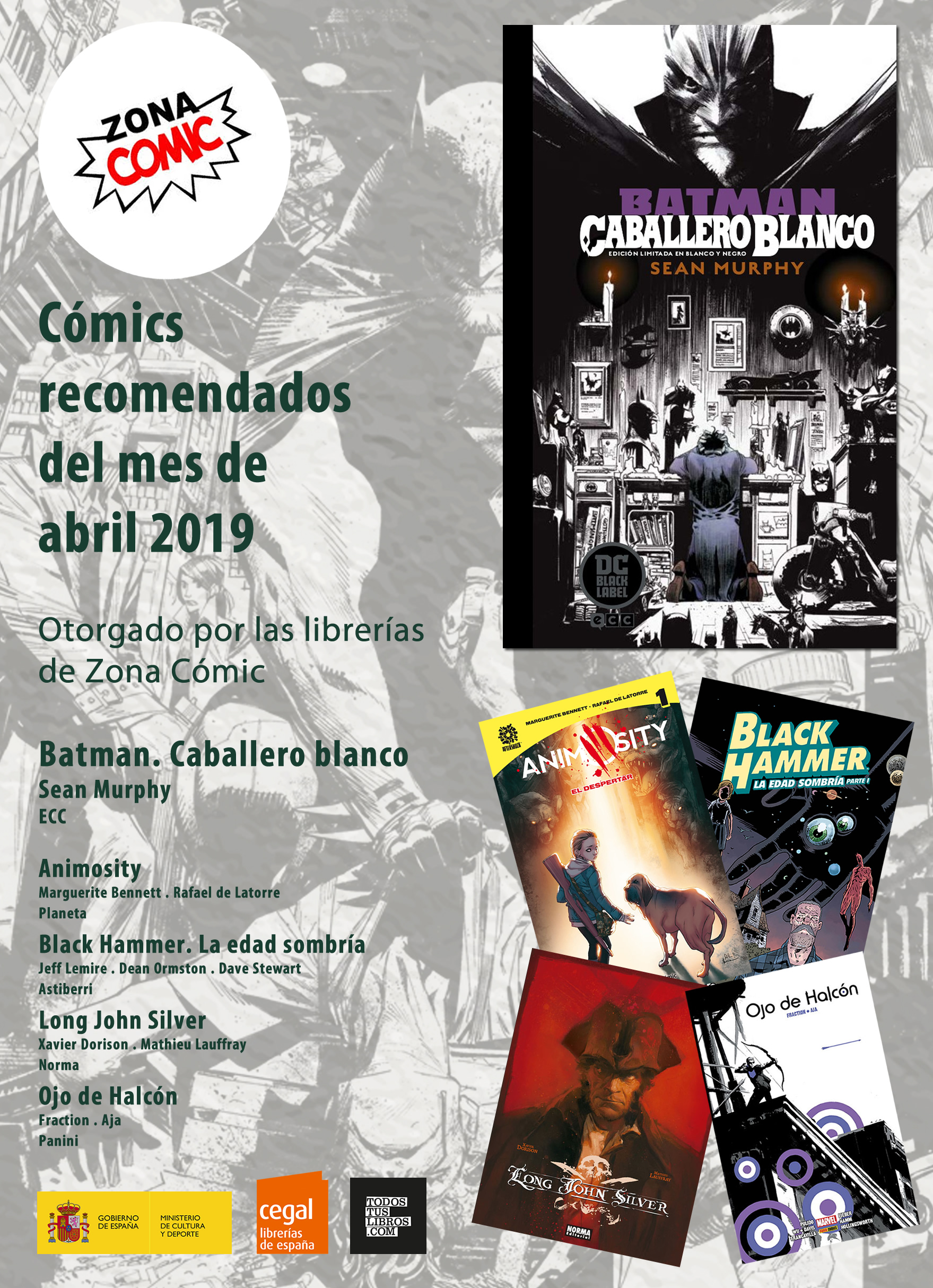 cómic del mes de abril 2019
