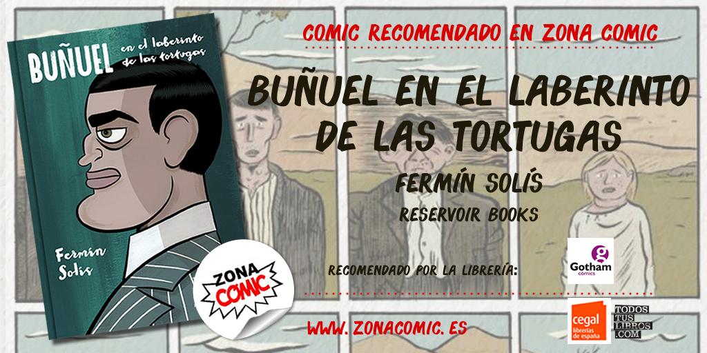 comic recomendado - Buñuel en el laberinto de las tortugas