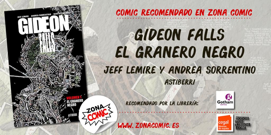 comic recomendado - Giddeon falls