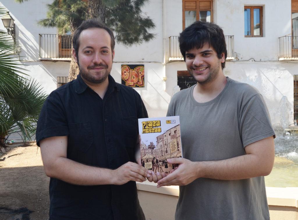 Vicente Perpiñá y Carlos Mercé, creadores de 'Plaça del Mercat'