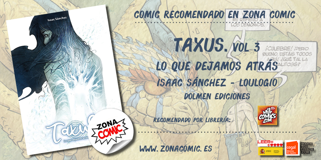 comic recomendado - taxus vol 3