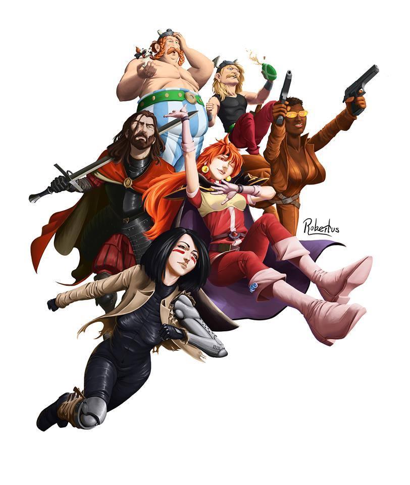 Mancha Comic 2019 Dibujo de Roberto García Peñuelas